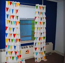 Diy No Sew Curtains Toolong Diy Nautical Nursery No Sew Curtains Curtain For
