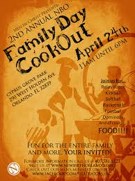 Company Cookout Flyer Templates Flyer Template