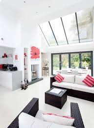 Living Room Extension Conservatory Replaced With A Kitchen Extension Real Homes