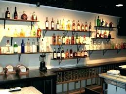 bar wall shelves liquor wall shelf wall bar shelves shelves behind bar for bottles glasses home