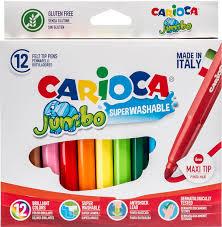 """Набор <b>фломастеров</b> """"<b>Carioca</b> Jumbo"""", <b>12</b> цветов — купить в ..."""