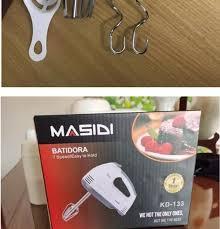 Máy đánh trứng cầm tay cao cấp công nghệ mới 7 cấp độ - Máy đánh trứng mini  Masidi đa năng nhào bột trộn bột đánh kem tốt hơn máy đánh trứng