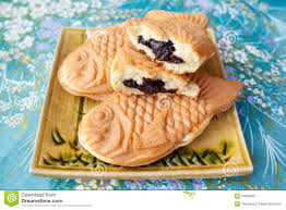 Japanese Traditional Fish Shaped Cake Taiyaki Stock Image Image