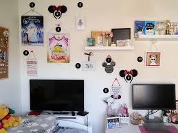 gift from carrie hope fletcher 7 mickey mouse shaped chalkboard primark 8 disney e plaque primark 9 minnie mouse ears primark 10