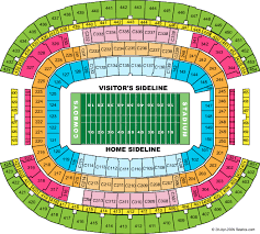 Dallas Cowboys Stadium Seating Chart Dallas Cowboys Stadium