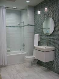 Impressive White Glass Bathroom Tiles Subway Tile And Beautiful Ideas