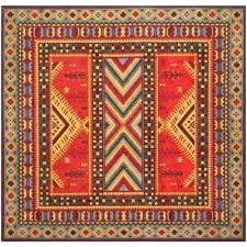square area rugs 6x6 classic vintage red slate 6 ft x square area rug rugs furniture