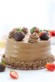 Chocolate Strawberry Cake Beyond Frosting