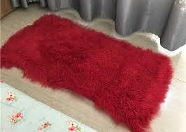 curly lambskin hide pelt sheep fur wool rug lambskin sheepskin throw tibetan lambskin white blanket