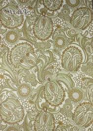Behang Met Paisly Motief Swiet Vintage Paisley Wallpaper
