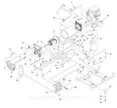 Generator parts diagram for kids