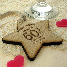 womens 60th birthday gift 60th birthday gift for her 60th birthday wooden gifts