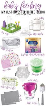 Enfamil Newborn Formula Feeding Chart My Baby Feeding Must Haves For Bottle Feeding Baby Feeding
