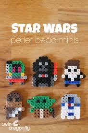 Star Wars Perler Bead Patterns New Star Wars Perler Bead Minis Dragonfly Designs