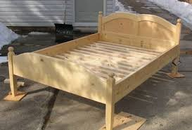 homemade wooden beds. Delighful Wooden Wooden Bed Frame On Homemade Beds S