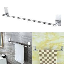 paper hand towel holder. Paper Hand Towel Holder Chrome Rack Wall Mounted Single Hanger Stainless Steel Bar Rail