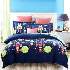 outer space bedding spacecraft bed sheets themed toddler