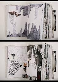 Art Portfolio Design Ideas Sleep Paralysis Fashion Design Sketchbook Sketchbook
