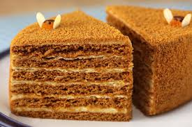 Medovik Russian Honey Cake