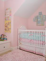 Enchanting Color Baby Pink Rug For Nursery Flowery Wall Inside Traditiinal  Girl Space White Crib Laminate Teak Floo