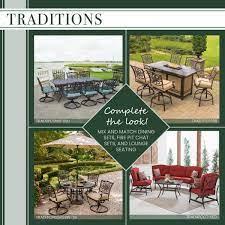 hanover traditions 5 piece patio