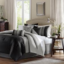 madison park amherst black grey bedding