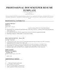 Executive Housekeeper Resume Extraordinary Sample Resume Of Executive Housekeeper Fruityidea Resume