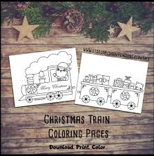It is mainly because of the innate structure of the train. Christmas Train Coloring Pages By Penguinfreaksh3 On Deviantart