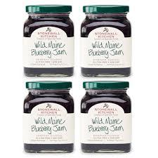 amazon stonewall kitchen wild maine blueberry jam 12 5 ounces grocery gourmet food