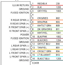 does my wiring diagram have rear speaker polarity reversed? ford Metra Wiring Harness Diagram i wired my system according to this diagram from mitchell1 ondemand5 ignoring the color matching of the metra 70 1771 harness metra wiring harness diagram ford