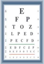 9 Best Images Of Motor Vehicle Eye Test Chart