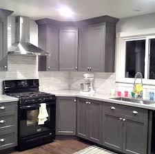 kitchen ideas white cabinets black appliances. Kitchen Black · Image Result For White Cabinets Grey Walls Stainless Steel Bronze Ideas Appliances