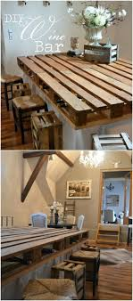 Diy rustic furniture Changing Table Topper Pallet Wine Bar Diy Crafts 10 Brilliantly Rustic Diy Pallet Kitchen Furniture Ideas Diy Crafts