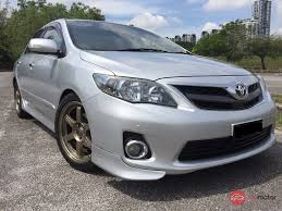 2010 Toyota Corolla Altis for sale in Malaysia for RM58,600 | MyMotor