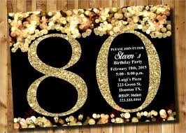 26 80th Birthday Invitation Templates Free Sample