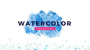 Watercolor Google Slides Theme Free Google Presentation