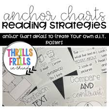 How To Make Your Own Chart Reading Strategy Anchor Chart Diy Instructions Decals To