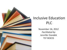 plc education ppt inclusive education plc powerpoint presentation id 2099139