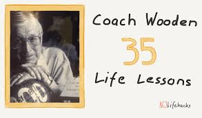 John Wooden Quotes Unique 48 Timeless Life Lessons Quotes From John Wooden The Greatest