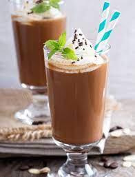 Pour sweetened cream into ice molds and freeze. Frozen Irish Coffee