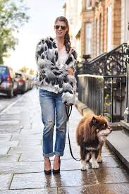 thankfifi next faux fur patchwork jacket fashion blogger streetstyle