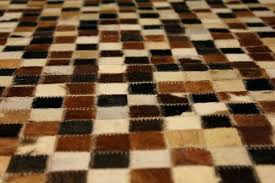 multicolored patchwork cowhide rug nz