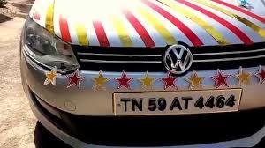 Wedding Car Decorate Wedding Car Decoration 2015 Stxaviers Lourthusamy Thoothukudi