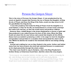 perseus the gorgon slayer gcse history marked by teachers com document image preview