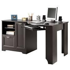 elegant corner desks realspace magellan collection corner desk espresso by office depot u0026 officemax