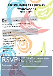 part invites party invites twinwoods adventure bedford