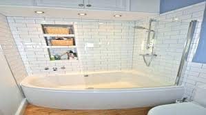 soaker tub shower combo one piece bathtub shower combo inch and surround home depot stalls small