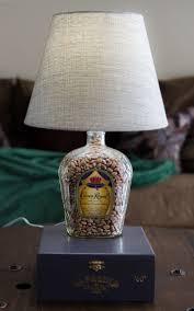 Crown Royal Pool Table Light Buy A Custom Made Whiskey Bottle Cigar Box Lamp Crown