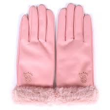 product name sanrio my melody sanrio mai melody leather gloves pink