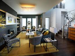 Yellow And White Living Room Designs Black And Yellow Living Room Design Living Rooms Paint Color Room